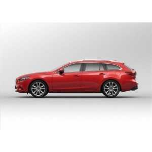 Příčníky Thule WingBar Black Mazda 6 Combi 2013- s podélníky