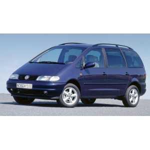 Příčníky Thule WingBar Black VW Sharan 1996-2009 s podélníky