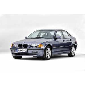 Příčníky Thule WingBar Black BMW 3 E46 1998-2005 s pevnými body
