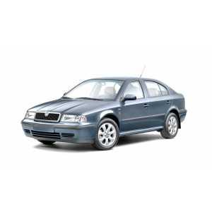 Příčníky Thule WingBar Black Škoda Octavia I 1997-2004 s pevnými body