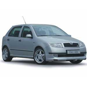 Příčníky Thule WingBar Black Škoda Fabia I 2000-2007 s pevnými body