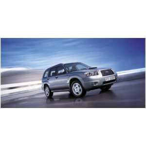 Příčníky Thule WingBar Black Subaru Forester 2003-2007 s integrovanými podelníky