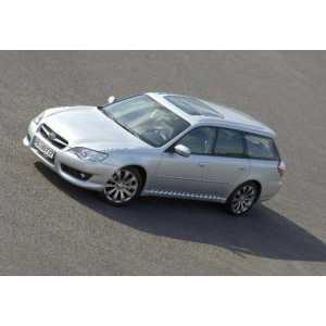 Příčníky Thule WingBar Black Subaru Legacy kombi 2003-2009 s pevnými body