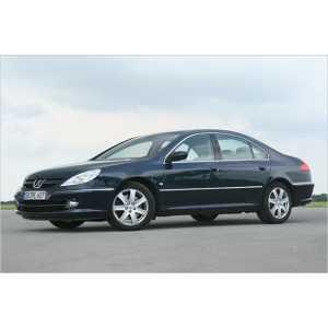 Příčníky Thule WingBar Black Peugeot 607 1999-2010 s pevnými body