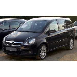 Příčníky Thule WingBar Black Opel Zafira 2005-2011 s pevnými body