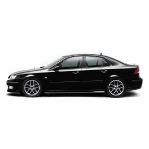 Příčníky Thule WingBar Black Saab 9-3 Sport sedan i combi 2003-2012 s pevnými body