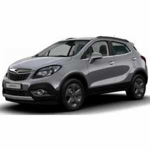 Příčníky Thule WingBar Black Opel Mokka 2013-2015 integrované podélníky