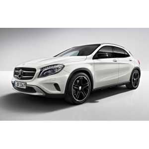 Příčníky Thule WingBar Mercedes-Benz GLA 2014- s integrovanými podélníky