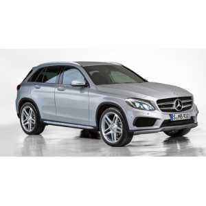 Příčníky Thule WingBar Mercedes-Benz GLC 2015- s integrovanými podélníky