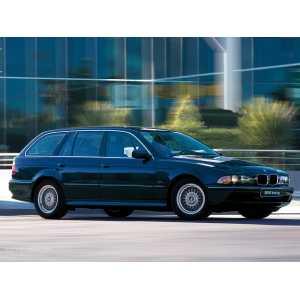 Příčníky Thule WingBar BMW 5 Touring E39 1997-2003 s pevnými body