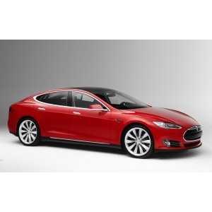 Příčníky Thule WingBar Black Tesla S 2013- s pevnými body
