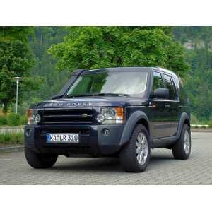 Příčníky Thule WingBar Black Land Rover Discovery III 2004-2009 s pevnými body