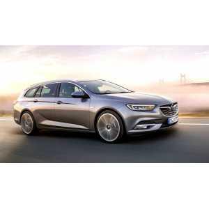 Příčníky Thule WingBar Black Opel Insignia Combi 2017- s integrovanými podélníky