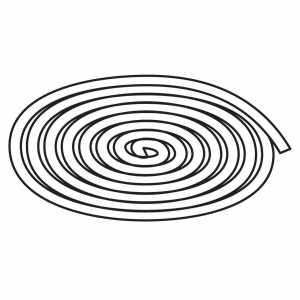 """Thule Rope 1/4"""" Diameter 52833"""