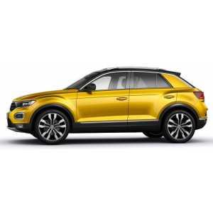 Příčníky Thule WingBar Edge Black VW T-Roc 2018- s podélníky