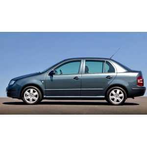 Příčníky Thule Škoda Fabia I Sedan 2001-2007 s pevnými body