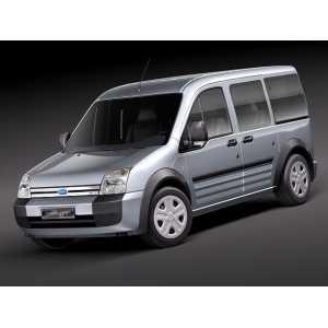 Příčníky Thule WingBar Black Ford Tourneo Connect 2003-2013 s pevnými body