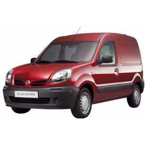Příčníky Thule WingBar Nissan Kubistar 1997-2009 s pevnými body