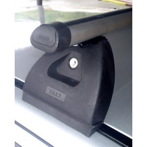 Příčníky Hakr pro Škoda Fabia I Hatchback 2000-2007 s fixačním bodem,ALU tyč