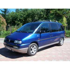 Příčníky Thule Fiat Ulysse 1994- s T-profily