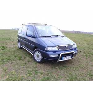 Příčníky Thule WingBar Black Lancia Zeta 1994-2001 s T-profily