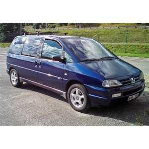 Příčníky Thule WingBar Peugeot 806 1994-2001 s T-profily