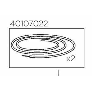 Thule Brake Cables Single 40107022