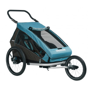 Croozer Kid For 2 PLUS Click & Crooze