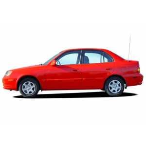 Příčníky Thule WingBar Black Hyundai Accent 4dv. Sedan 2000-2005