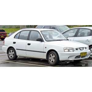 Příčníky Thule WingBar Black Hyundai Accent 5dv. Hatchback 2000-2005