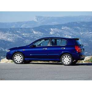 Příčníky Thule WingBar Black Nissan Almera 5dv. Hatchback 2000-2006