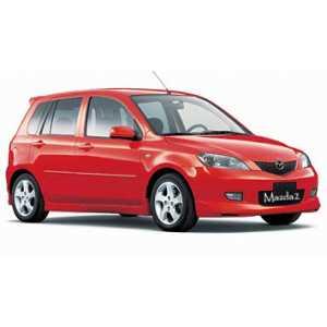 Příčníky Thule Mazda 2 2002-2007