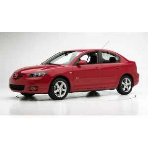 Příčníky Thule Mazda 3 4dv. Sedan 2004-2008