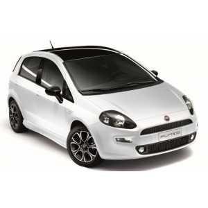 Příčníky Thule WingBar Black Fiat Punto 2012-