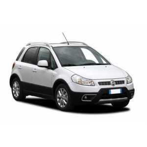 Příčníky Thule WingBar Fiat Sedici 2006-2014 s podelníky
