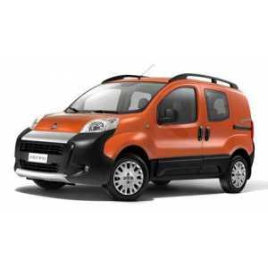Příčníky Thule Fiat Fiorino 3/5dv. 2008- s podélníky