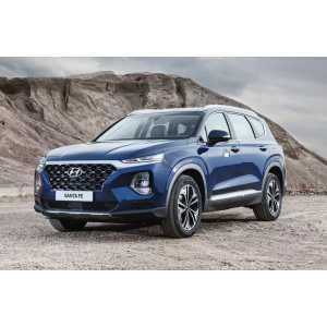 Příčníky Thule Hyundai Santa Fé 2018- s integrovanými podélníky