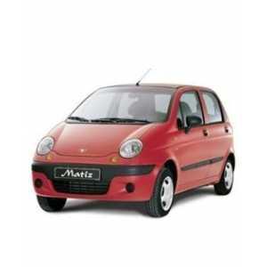 Příčníky Thule SmartRack Daewoo Matiz 2001-2005 s podélníky