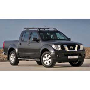 Příčníky Thule WingBar Evo Black Nissan Navara Double Cab 2005-2015 s podélníky