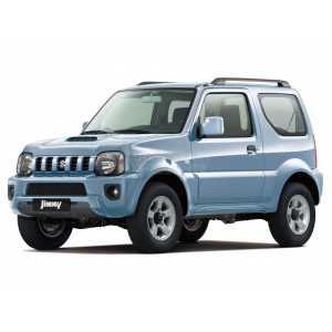 Příčníky Thule WingBar Evo Suzuki Jimny 1998-2018 s podélníky