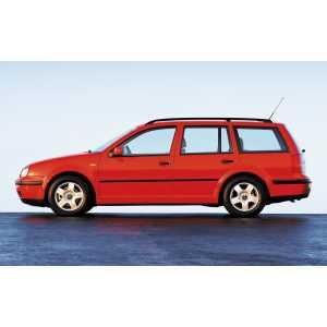 Příčníky Thule WingBar Evo Black VW Golf IV Variant 1999-2007 s podélníky