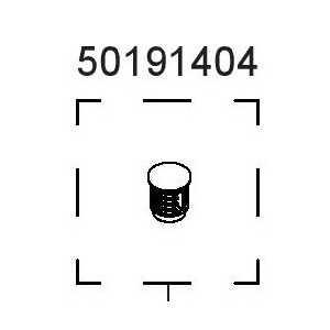 """Zátka koncovka 1"""" 50191404"""
