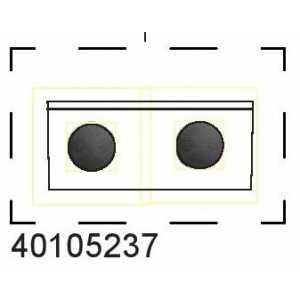 Brzdové destičky 40105237