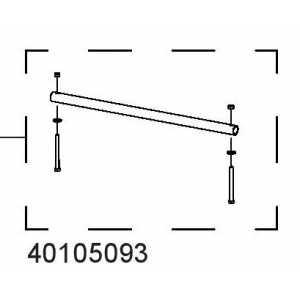 Kotvící trubka sedadla Corsair 1 40105093