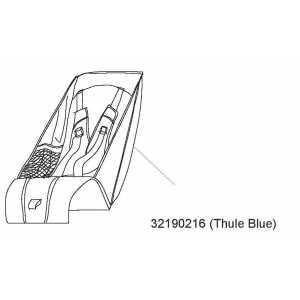 Sedátko Thule Blue Thule 32190216