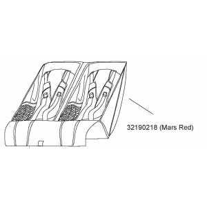 Sedátko Mars Red Thule 32190218