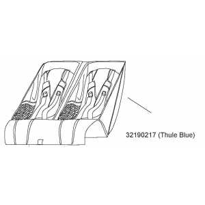 Sedátko Thule Blue Thule 32190217