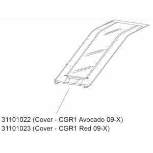 Kryt Thule 31101022 na Cougar1 Avocado