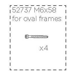 Šroub M6x58 Thule 52737 (4 ks)