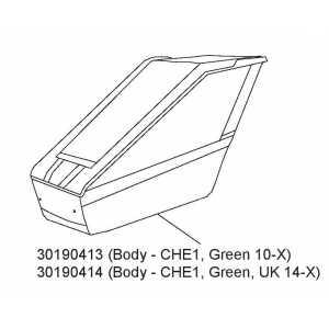 Tělo Green CHE1 30190413 10-x